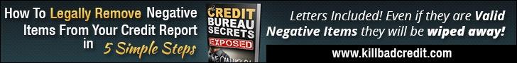 Kill Bad Credit 728×90